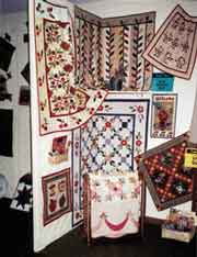 Hand-made Amish Quilts